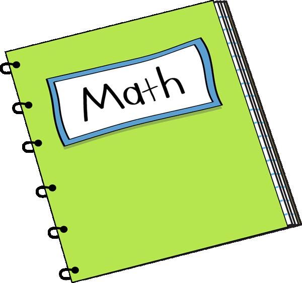 Math Notebook Clip Art.