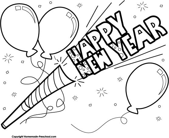 Fun New Year Clipart.