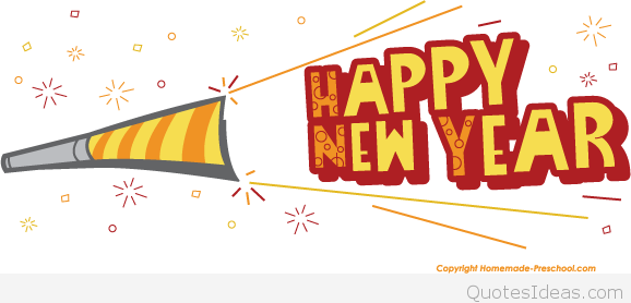 Free clip art Happy new year 2016.