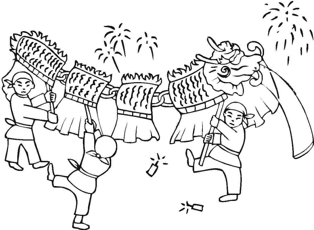 chinese new year coloring pages for preschool Archives.