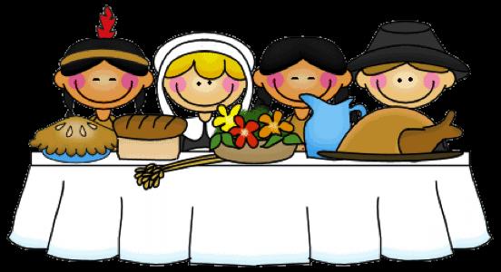 Preschool Thanksgiving Cliparts.