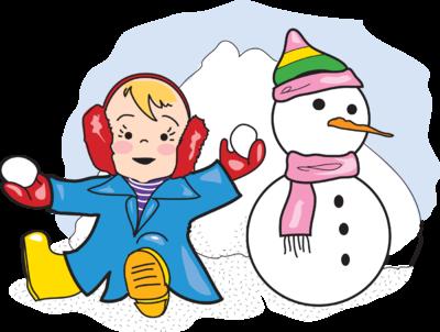 Preschool Clipart Snow.