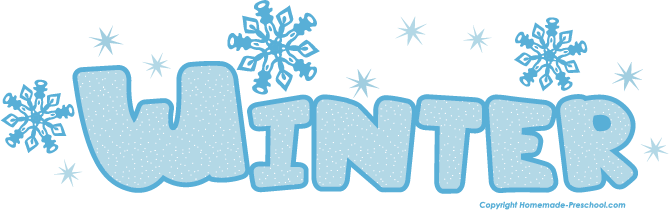 Free Winter Clipart.