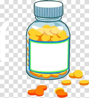 Hospital ByunCamis, prescription bottle with medication.
