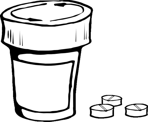 Large Prescription Bottle Clip Art at Clker.com.
