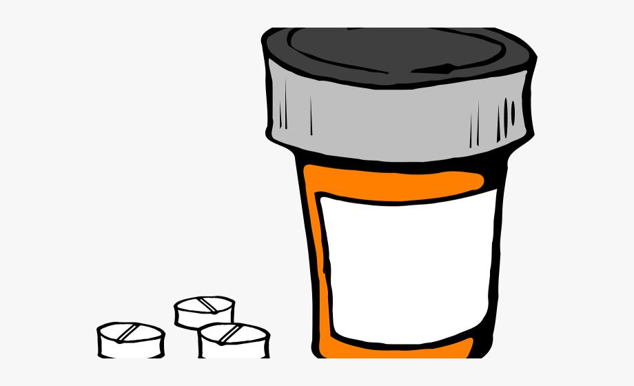 Pills Clipart Medication Management.