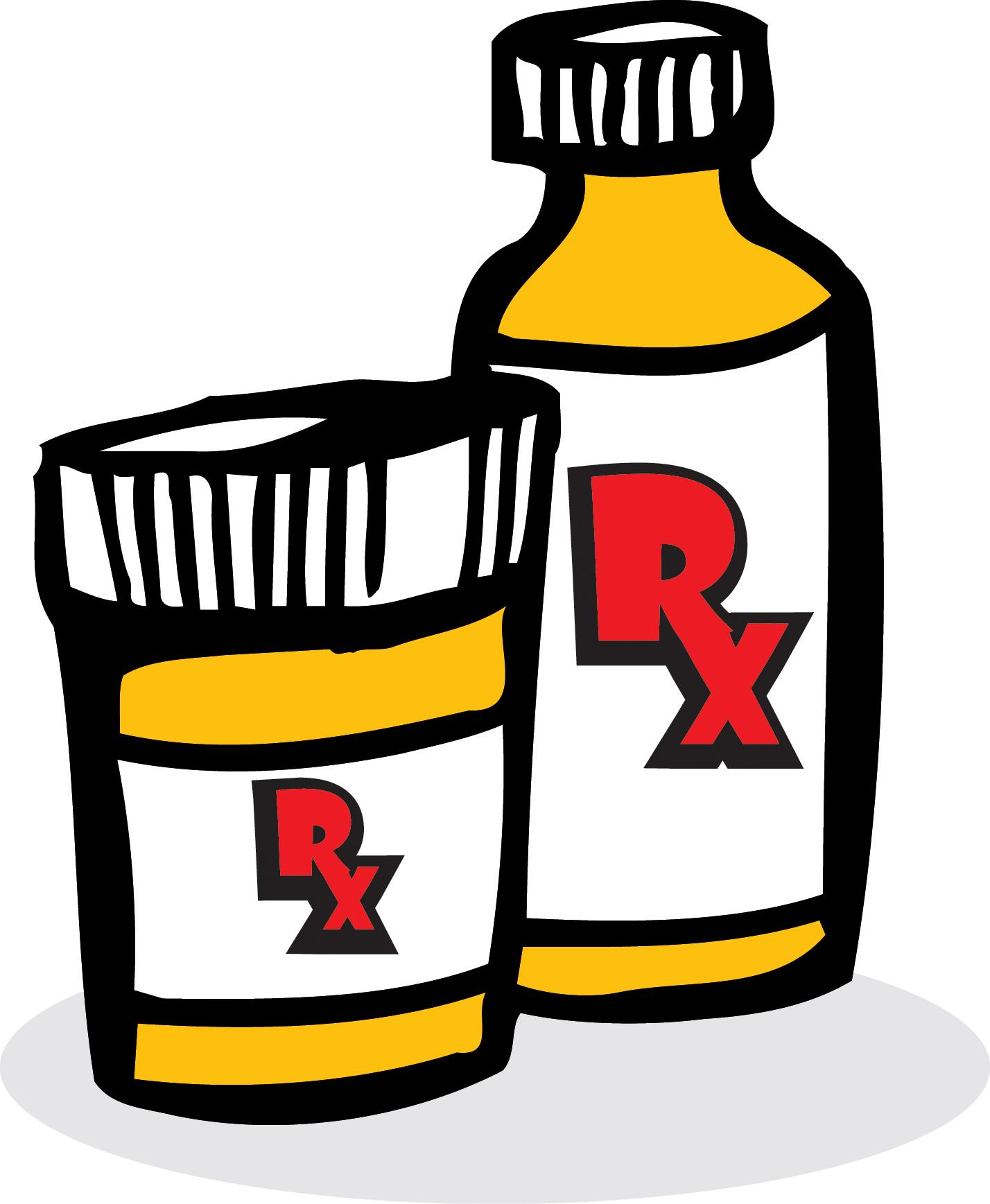 Prescription Bottle Clip Art N4 free image.
