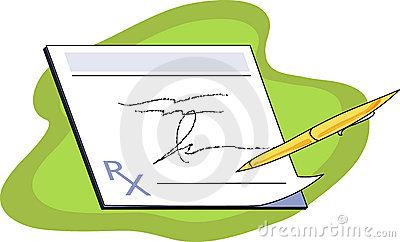 Prescription Clip Art.