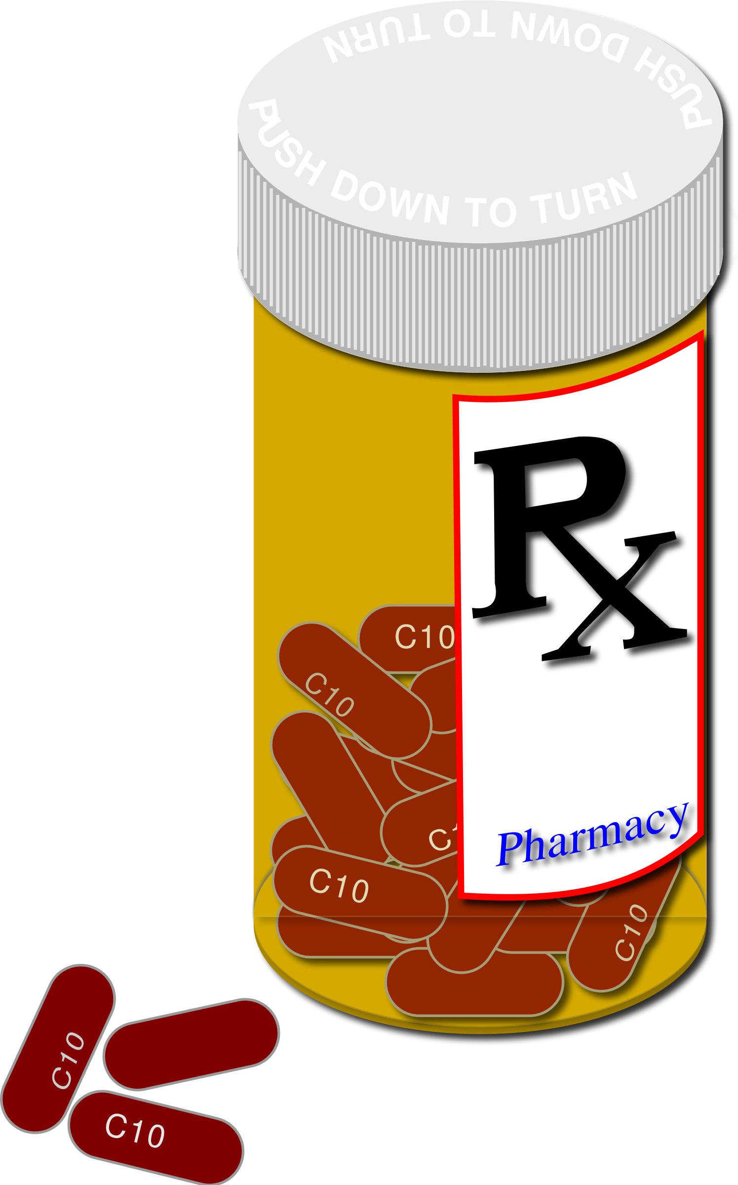 Prescription Drug Clipart.