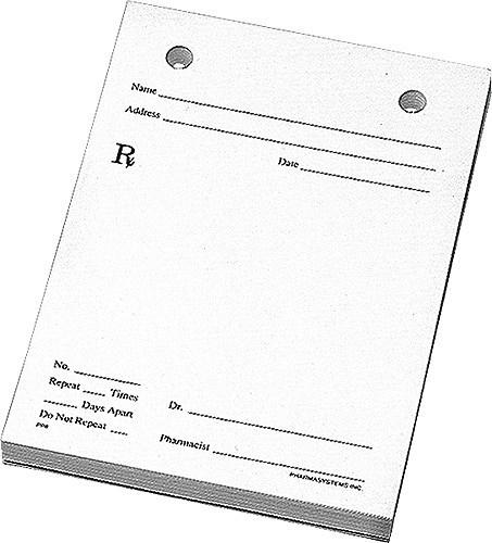 Prescription pad clipart 7 » Clipart Portal.