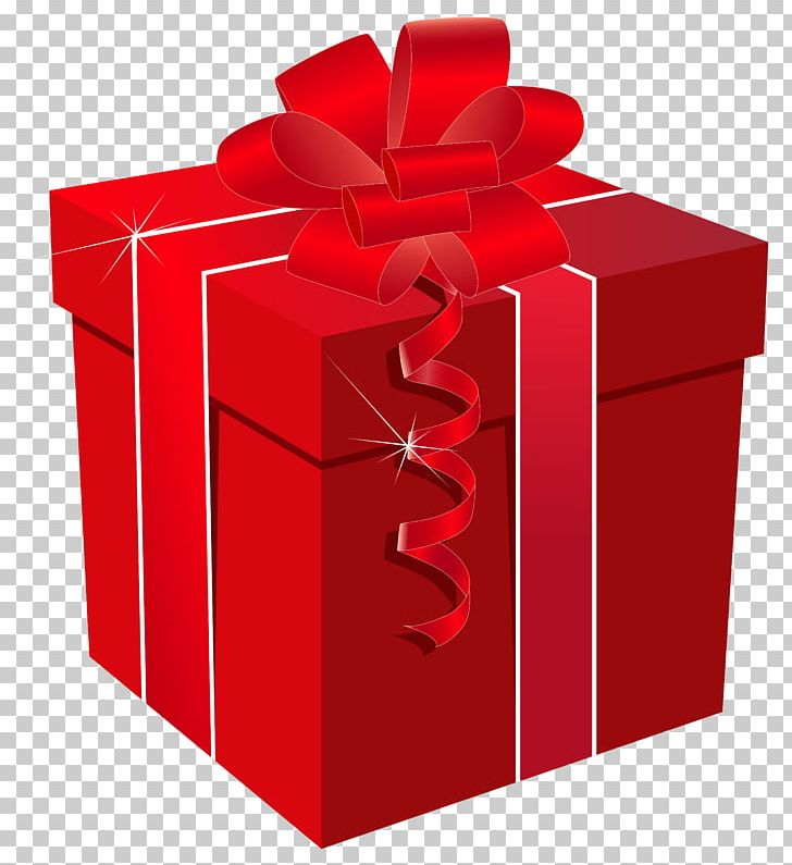 Red Gift Box With Red Bow PNG, Clipart, Blue, Bow, Box.