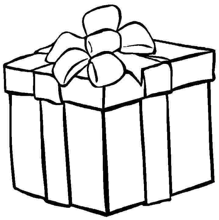 Free Present Clipart Black And White, Download Free Clip Art.