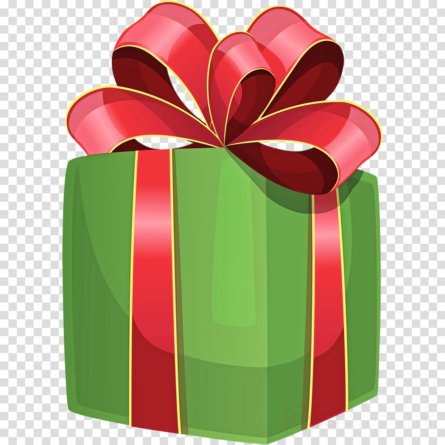 green clip art ribbon present gift wrapping clipart.