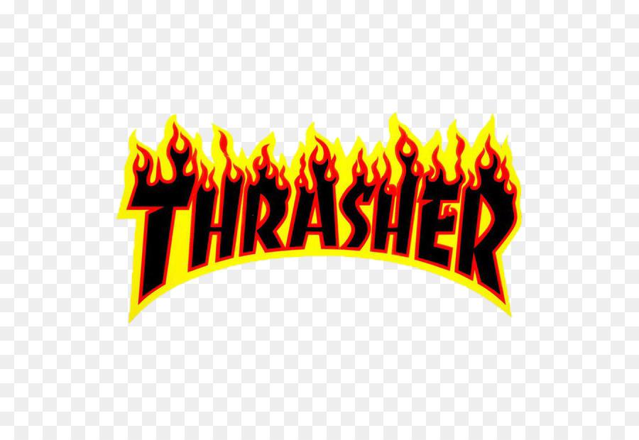 Thrasher Presenta Skate Y Destruir, Thrasher, Etiqueta.