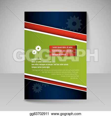Presentation magazine clipart.