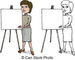 Presenter Illustrations and Clip Art. 265,887 Presenter royalty.