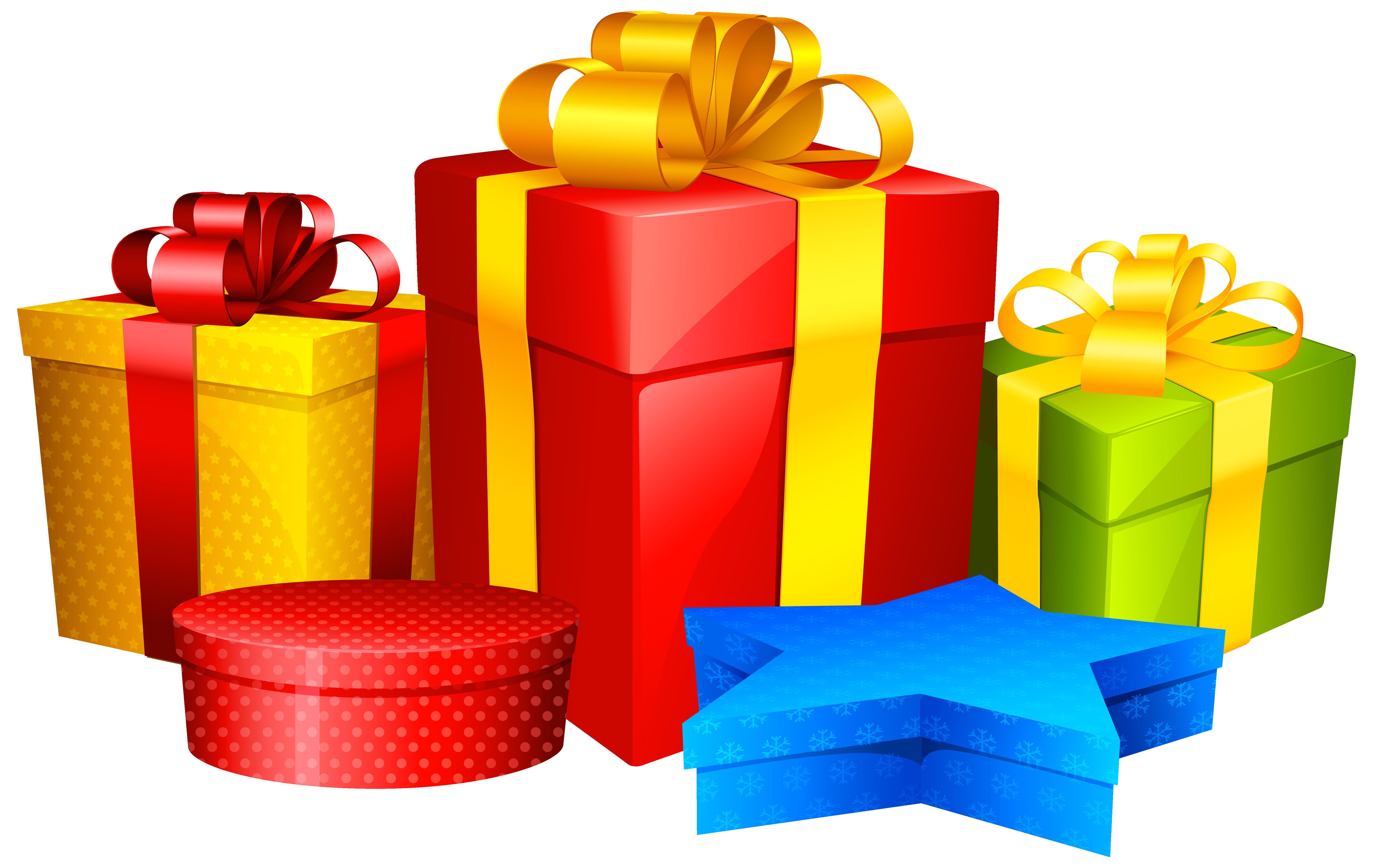 Коробка с подарком в png 105