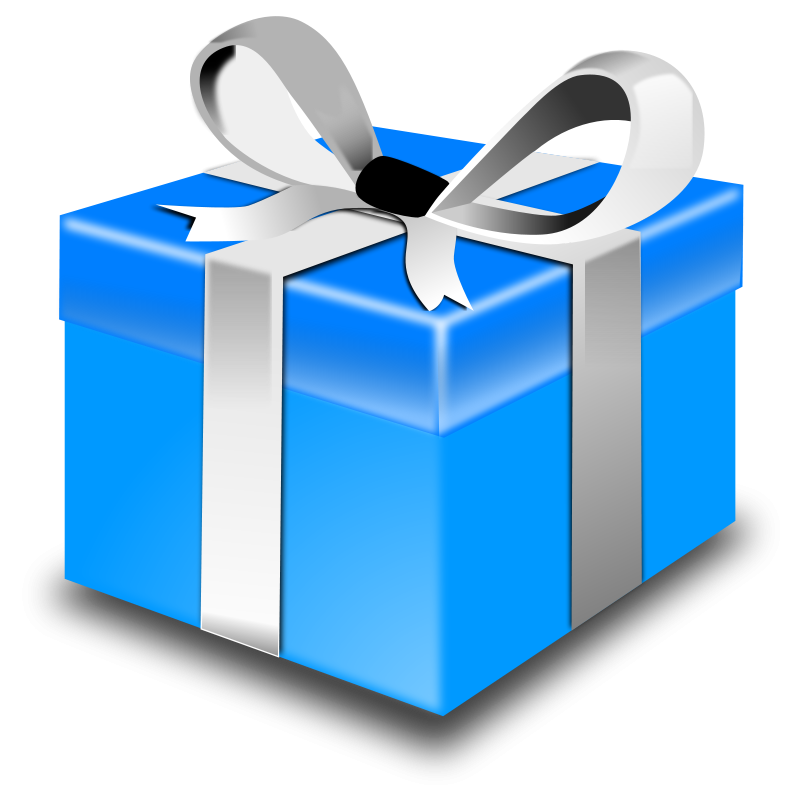 Christmas present clipart free images 2 image.