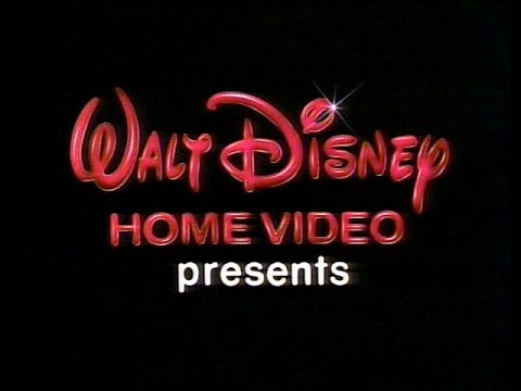 1986 Walt Disney Home Video \
