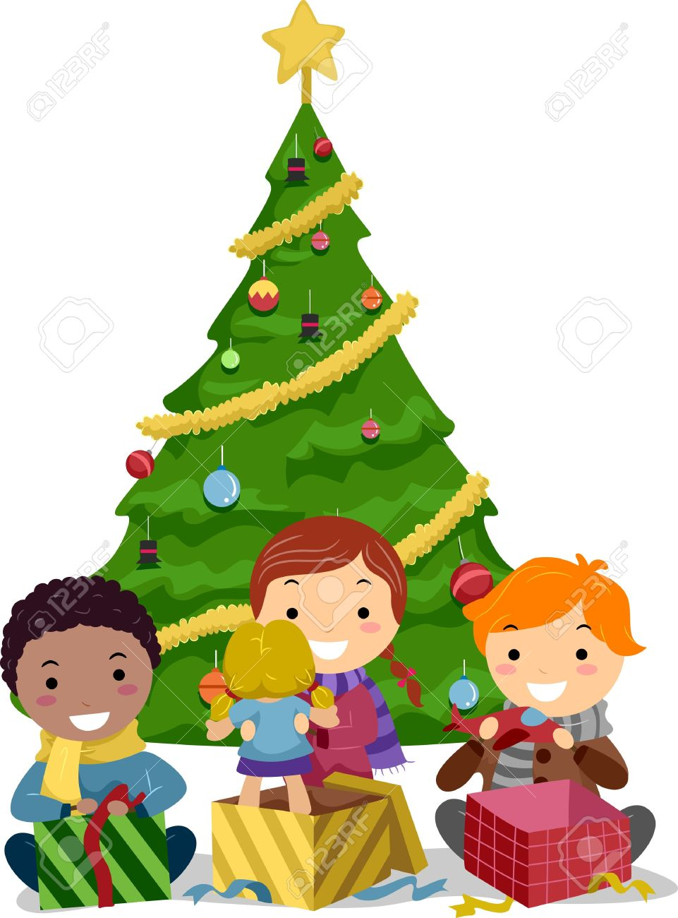 Showing post & media for Cartoon christmas presents clipart.