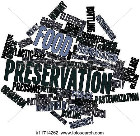 Clip Art of Food preservation k11714262.