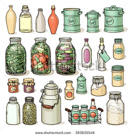 Food Preservation Stock Photos, Royalty.