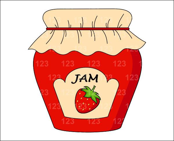 Similiar Cartoon Strawberry Jam Keywords.