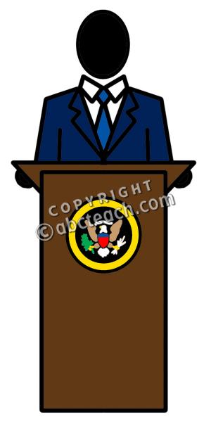 President Clipart.