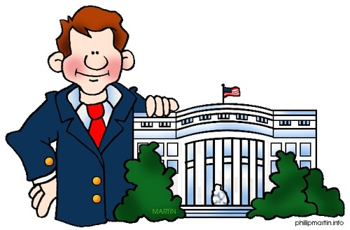 President clipart chief legislator, President chief.
