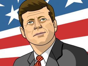 President Craft John F Kennedy.