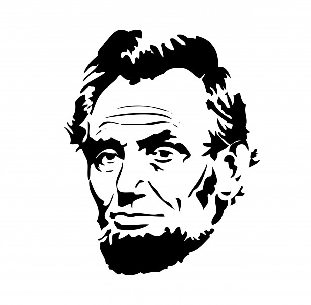 Abraham Lincoln Clipart Free Stock Photo.