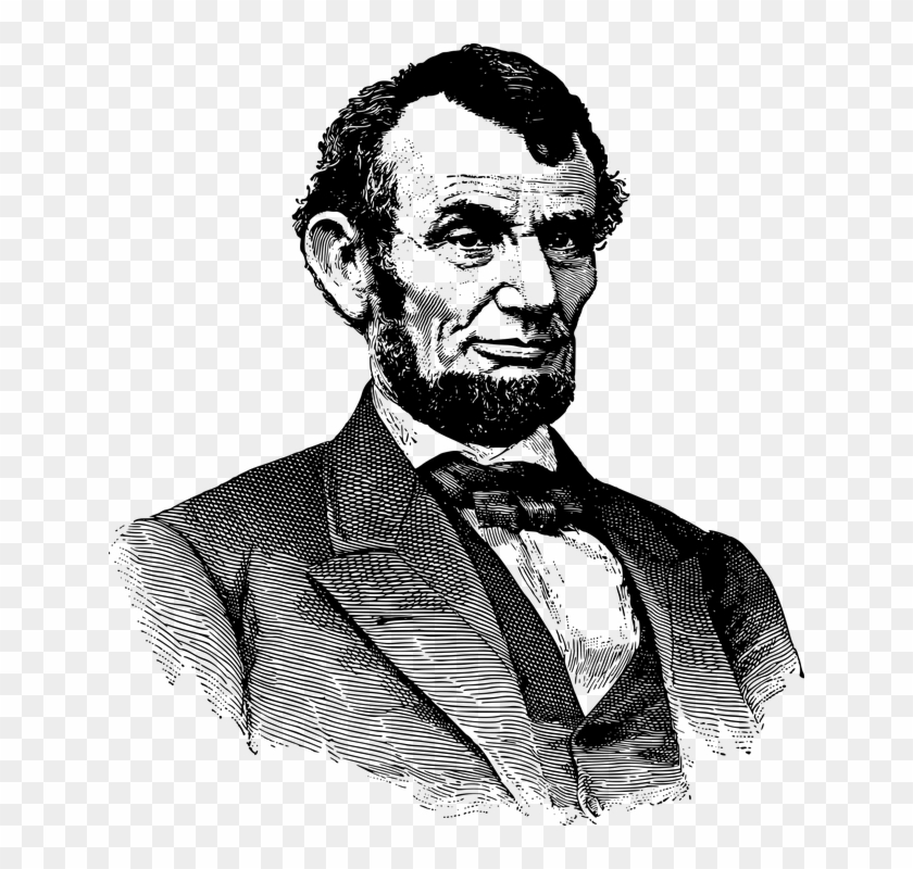 Abraham Lincoln America American Famous History.