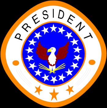 Presidential logo clipart.