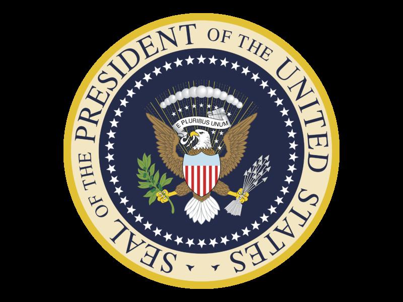 President Of The United States Logo PNG Transparent & SVG.