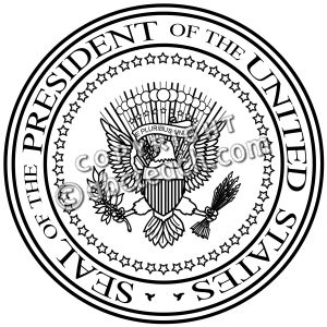 President Seal Clipart#2141814.