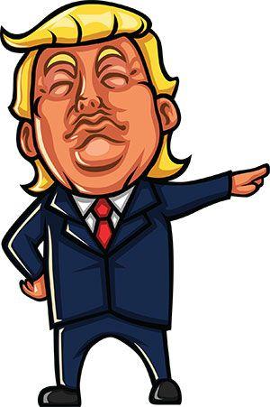 Donald Trump Drawing.