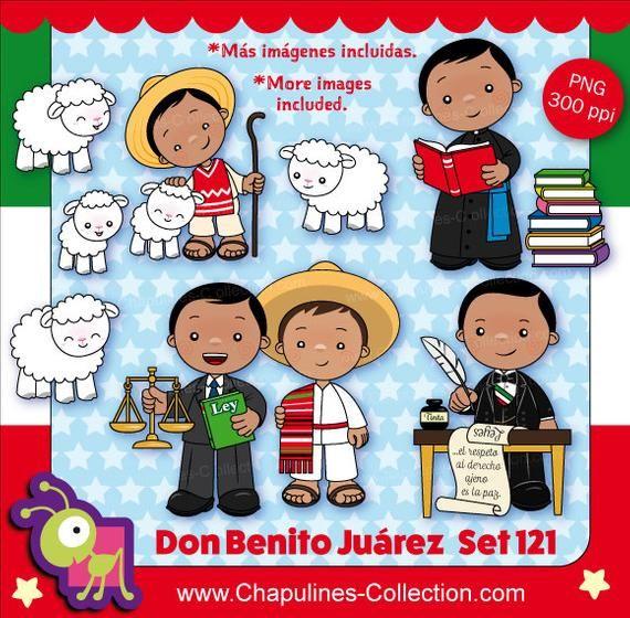 60% de desc. Clipart Benito Juárez, Presidente de México.