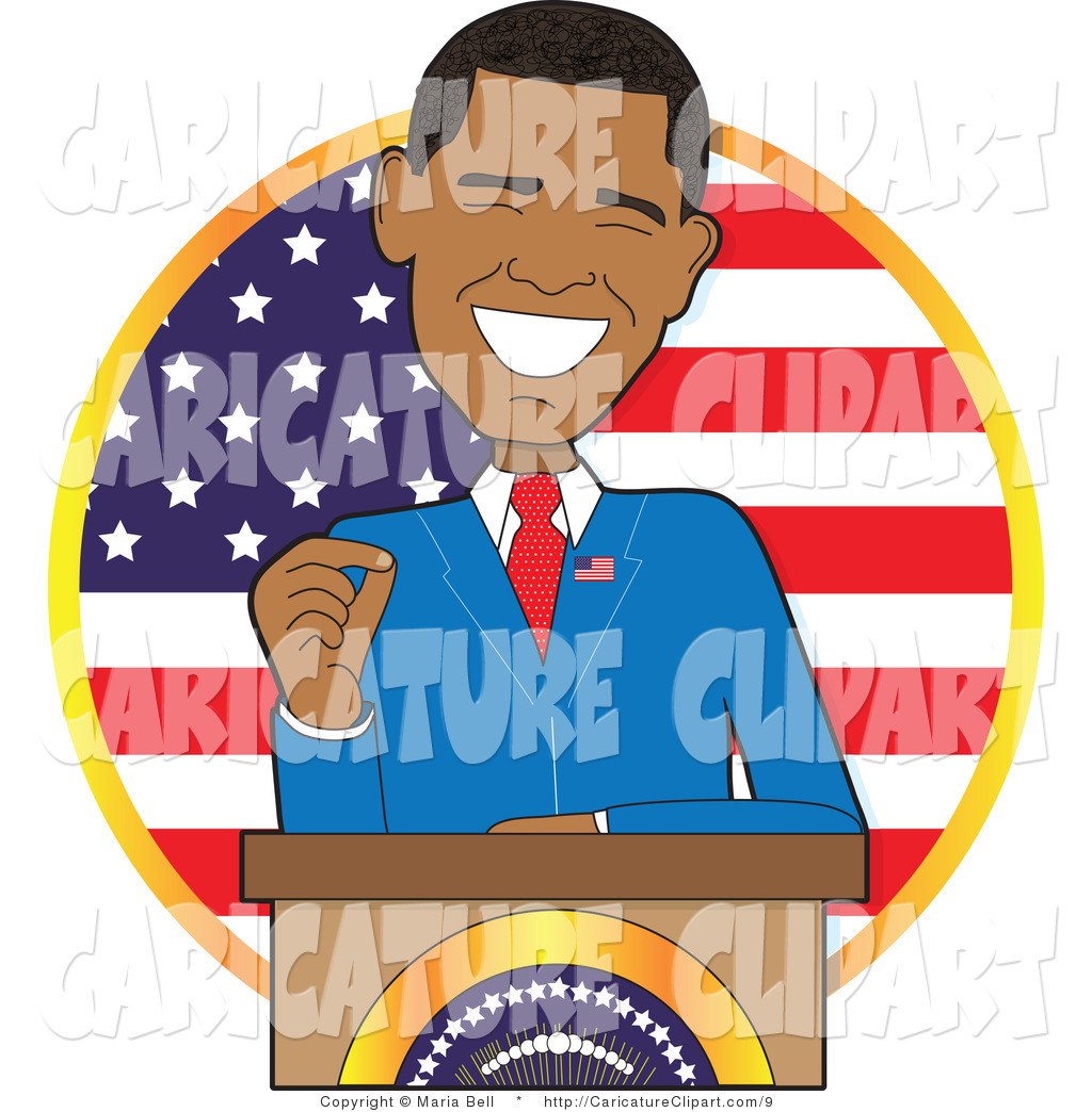 Collection of President clipart.