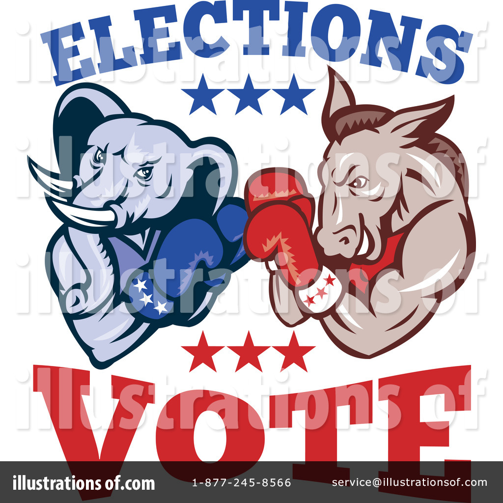 Presidential Elections Clipart #1116420.