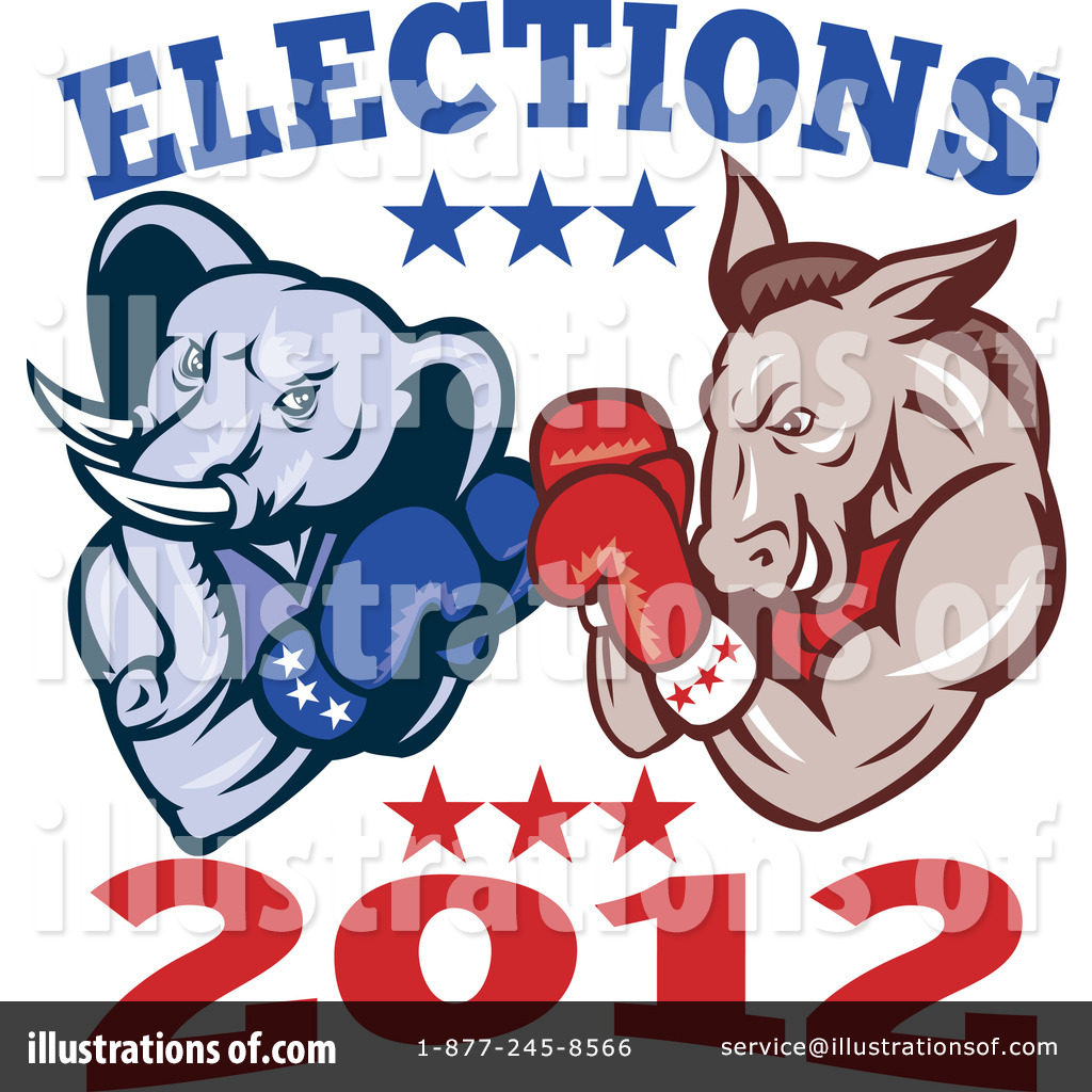 Presidential Elections Clipart #1116416.