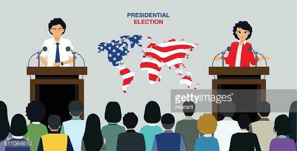 Presidential Election premium clipart.