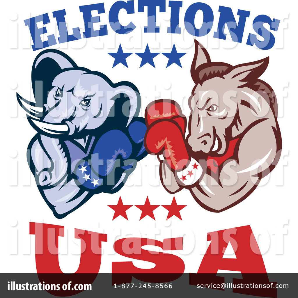 Presidential Elections Clipart #1116419.