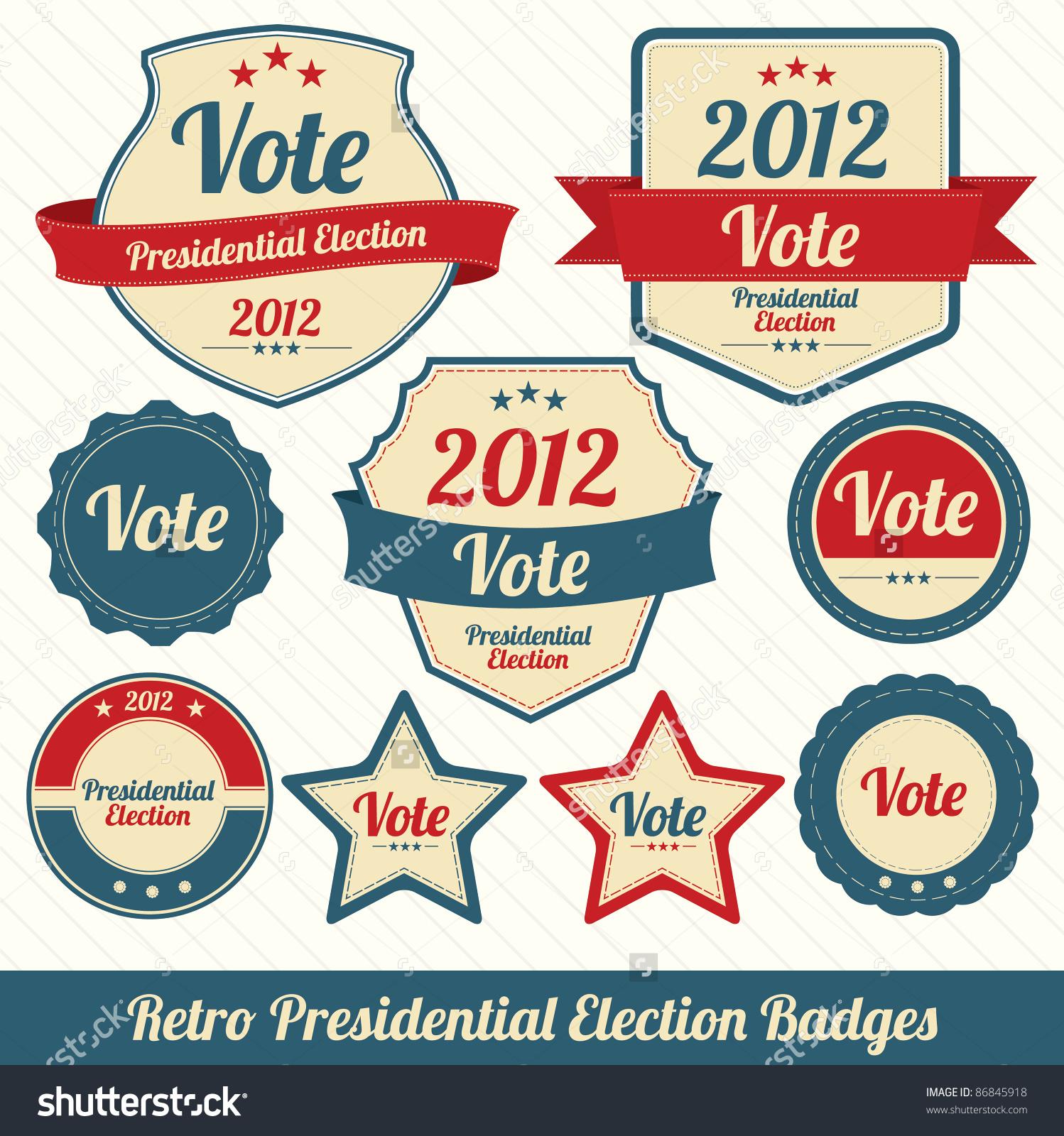 Retro Presidential Election.