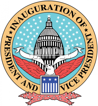 Clipart Picture of the Presidential Inauguration Seal.