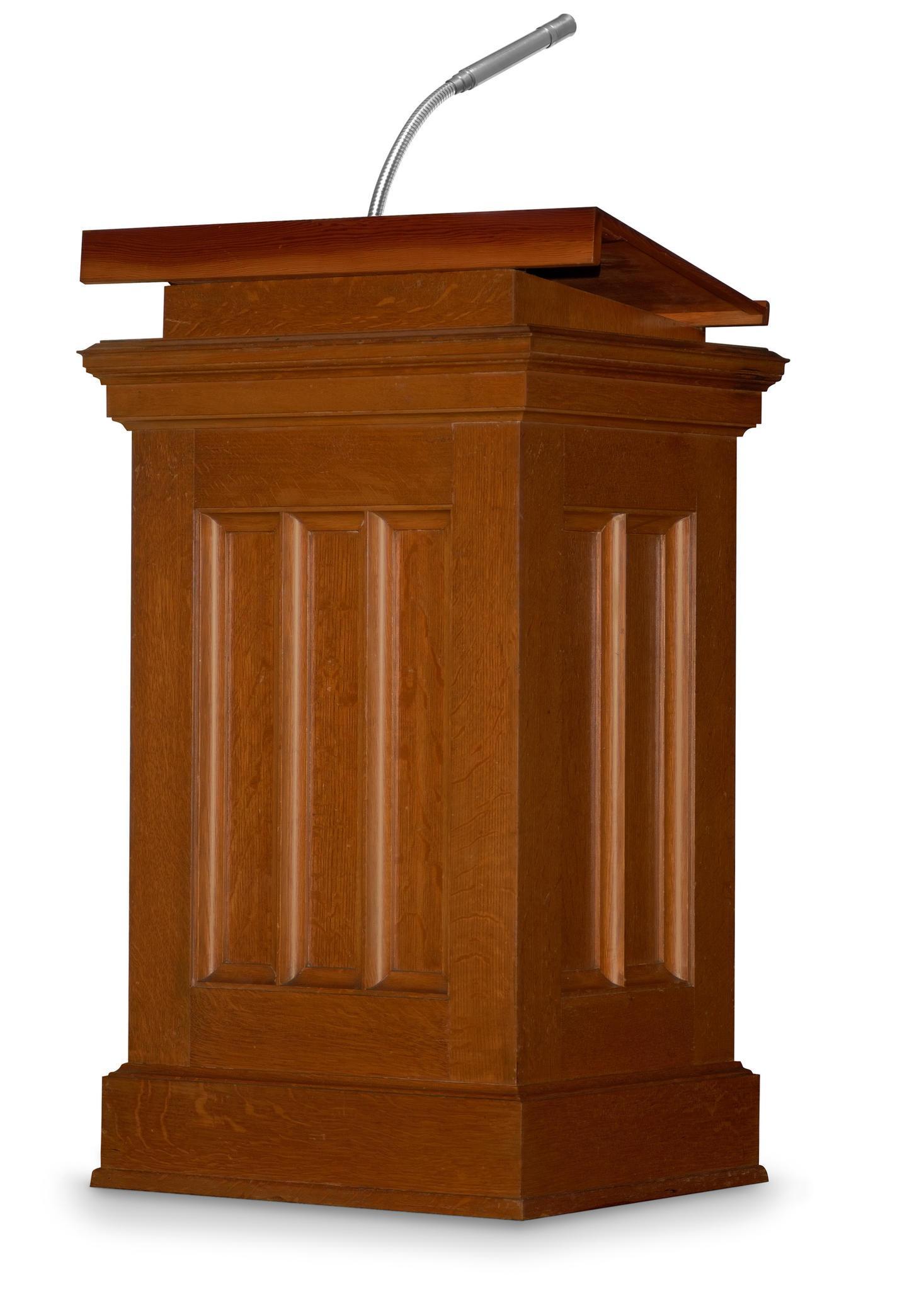 8+ President Podium Clipart.