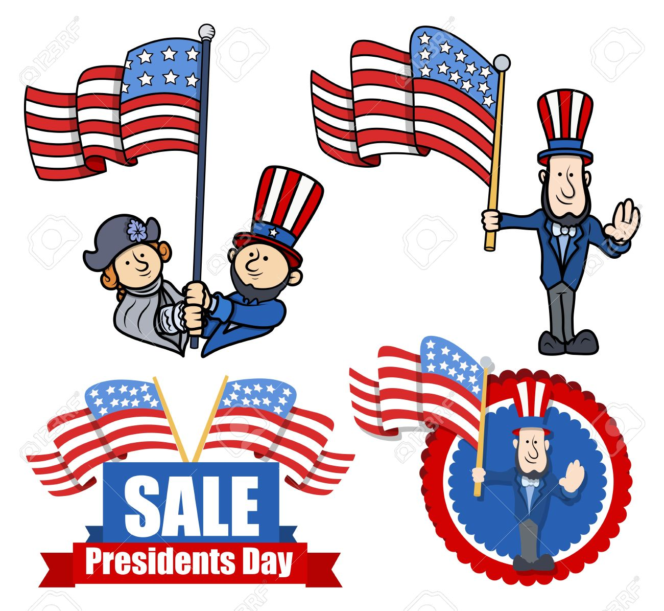 Us Presidents Clip Art.