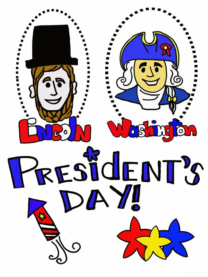 Free presidents\' day clip art.