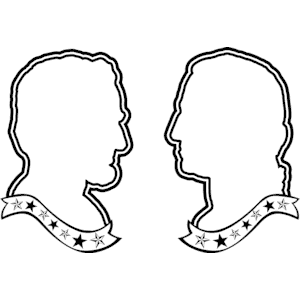 Presidents day clipart black and white happy holidays 3.
