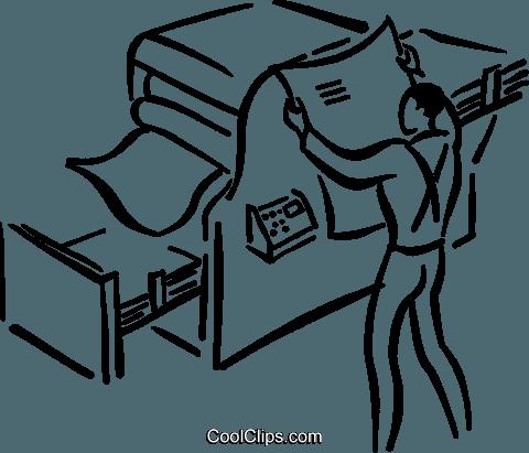 Clipart printing press.