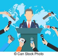 Press conference Illustrations and Clip Art. 1,651 Press.